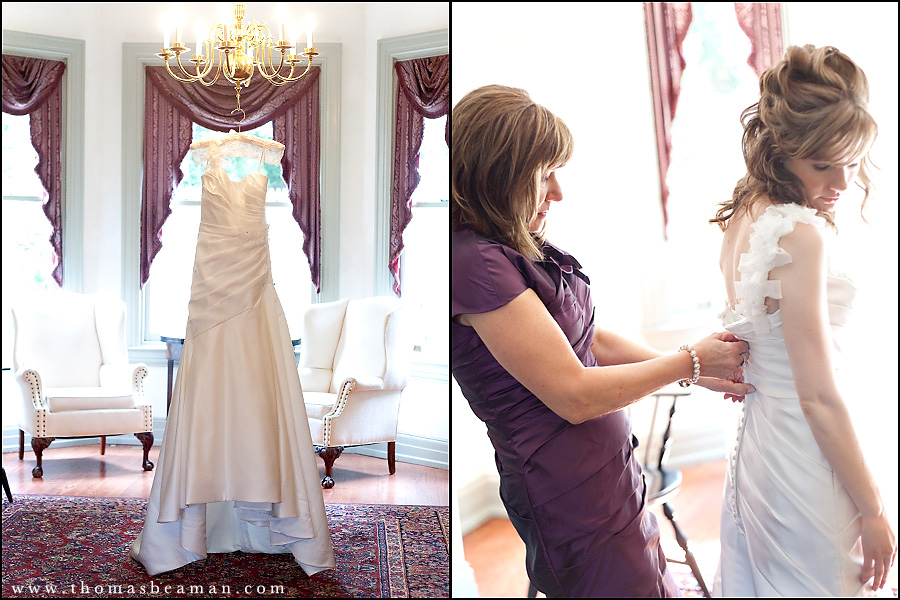 Stone mill inn wedding central pa katlyn adam for Wedding dresses harrisburg pa