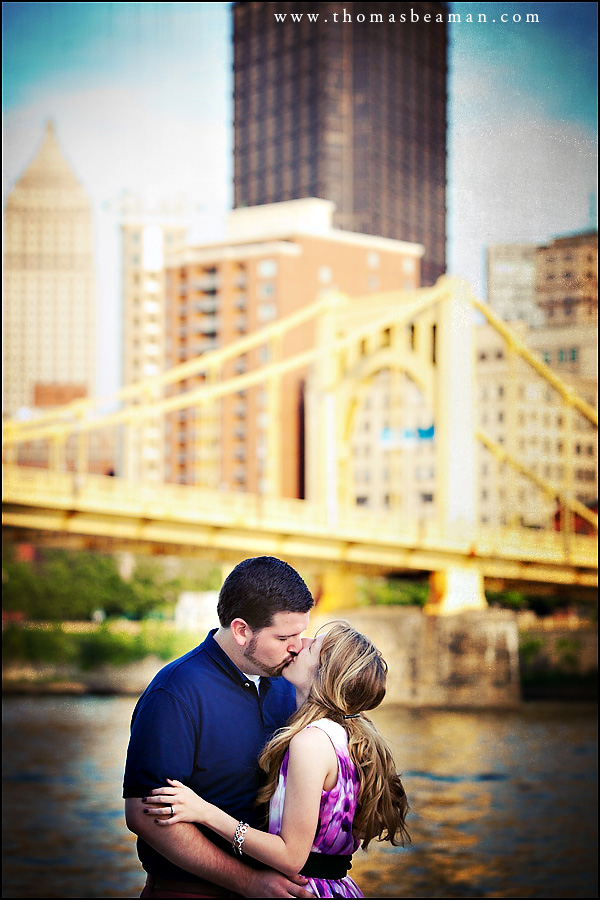 Pittsburgh Engagement Session With Kim And Trevor