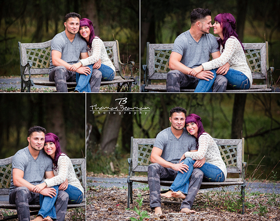 peter-allen-house-engagement-photos-bench