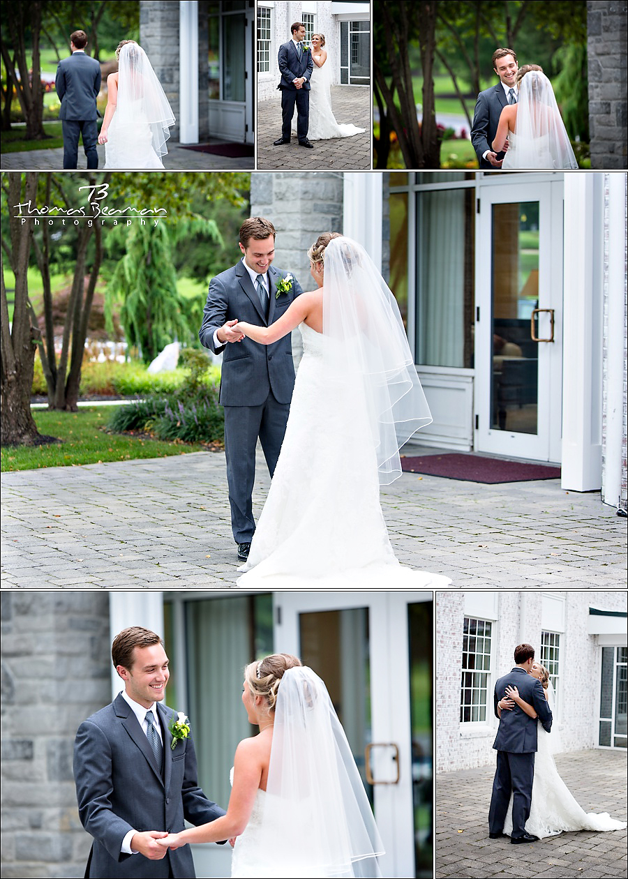 Wedding at west shore country club alecia and dylan for Wedding dresses harrisburg pa